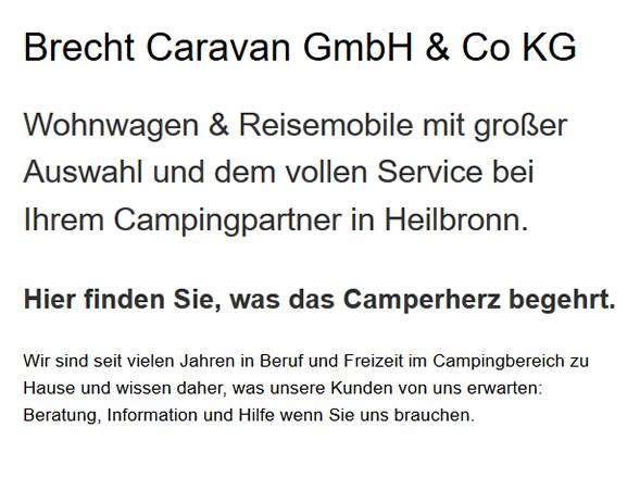 Reisemobile in  Erlenbach, Weinsberg, Neckarsulm, Heilbronn, Bad Friedrichshall, Untereisesheim, Obersulm und Eberstadt, Ellhofen, Lehrensteinsfeld
