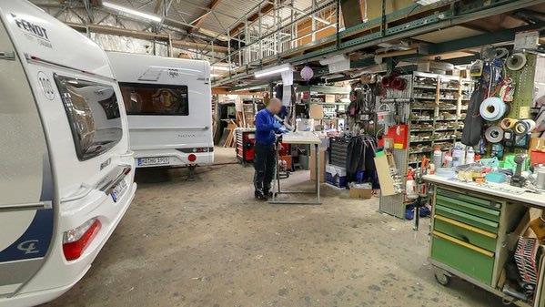 Wohnmobil-Werkstatt