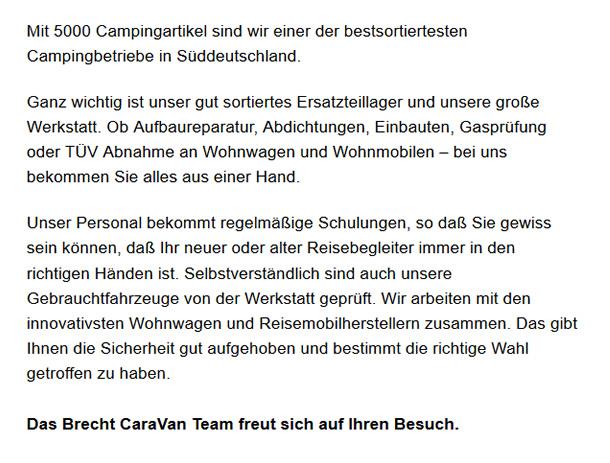 Wohnmobile für  Erlenbach - Neckarsulm, Weinsberg oder Binswangen